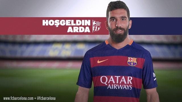 アルダ・トゥラン、FCバルセロナの新加入選手 / フォトモンタージュ ... アルダ・トゥランの