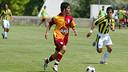 Arda Turan, en una acció amb la samarreta del Galatasaray / IMATGE ARXIU
