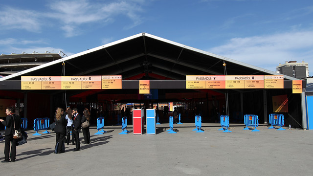 The entrance to the voting area will adapted to people with special needs / FCB