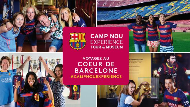 Camp Nou Experience. Voyagez au coeur de Barcelone