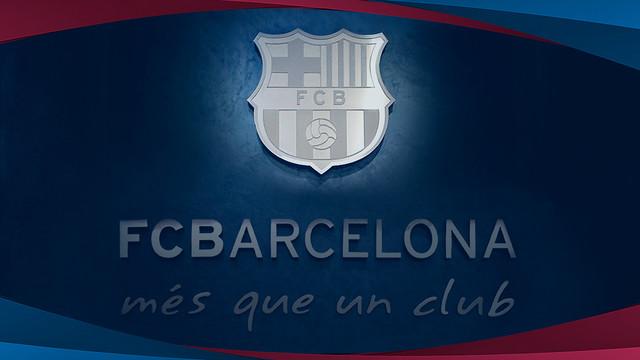 Corporate image of FC Barcelona / FCB