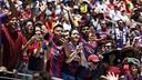FC Barcelona fans showed up en masse in San Francisco / MIGUEL RUIZ-FCB