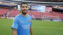 Luis Suárez, au Levi's Stadium / MIGUEL RUIZ - FCB