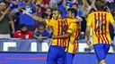 Sandro marcó el segundo gol del Barça / MIGUEL RUIZ - FCB