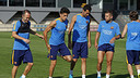 The squad for the game in Florence was revealed after the Saturday training session / MIGUEL RUIZ - FCB