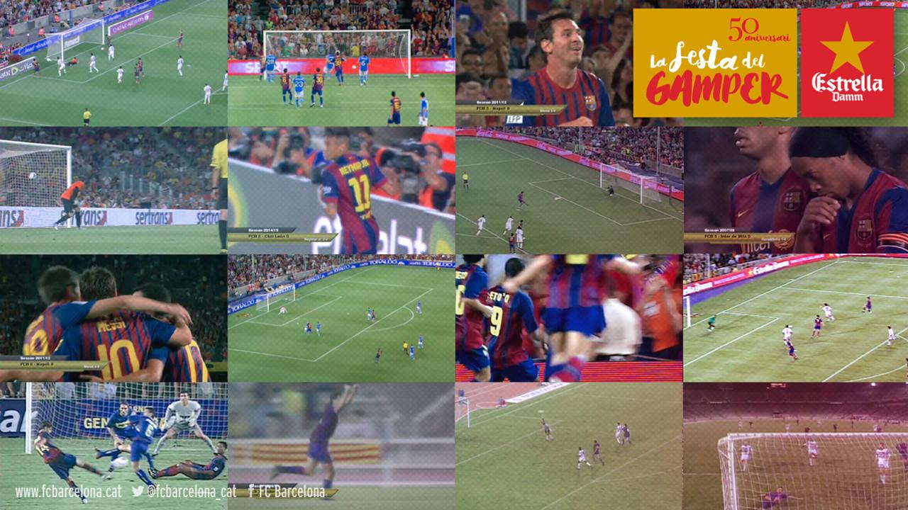 Els gols del Gamper / FCB