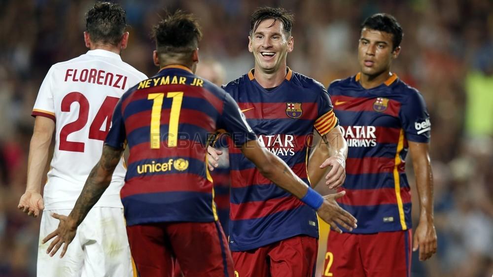 Барселона рома повтор матча