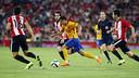 Pedro, contra l'Athletic / MIGUEL RUIZ - FCB