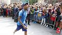 Dani Alves, à son arrivée à Bilbao / MIGUEL RUIZ-FCB