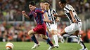 Messi during the Gamper 2005 / FCB