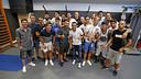 Pedro's former colleagues give him a heartfelt send-off after over a decade at FCB / MIGUEL RUIZ - FCB