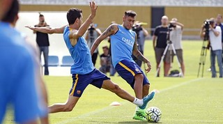Neymar and Sergio Busquets fully fit and back