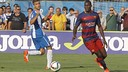 Godswill during the derby against Espanyol / MIGUEL RUIZ-FCB