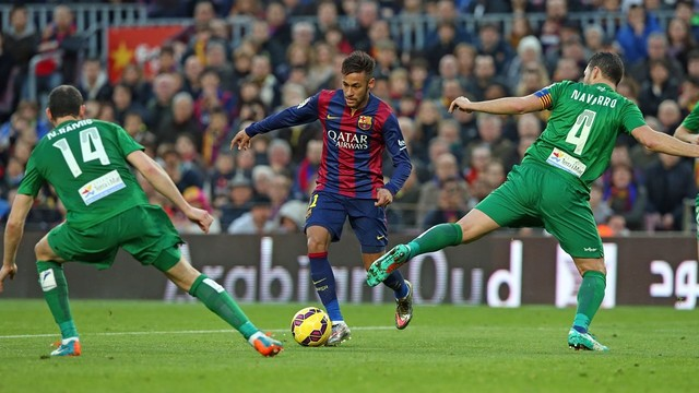 Barça have scored 18 goals to no reply in their last four home Liga games against Levante / FCB