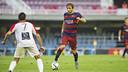 Sergi Samper, en el último partido del Barça B / VÍCTOR SALGADO - FCB