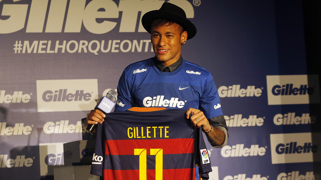 Neymar is a new ambassador for Gillette / MIGUEL RUIZ - FCB