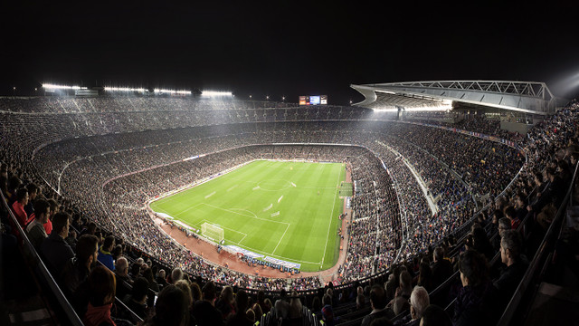The new 2015/16 season ticket ID card will be mandatory to get into Camp Nou beginning on Saturday 26 September 2015. / FCB
