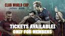Club World Cup tickets