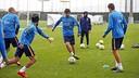Training in the rain / MR - FCB