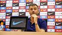 Luis Enrique en conférence de presse / MIGUEL RUIZ - FCB