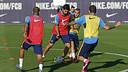 Luis Suárez, durant un entrenament / MIGUEL RUIZ - FCB
