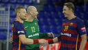 Sigurdsson, Saric and Jicha / MIGUEL RUIZ-FCB