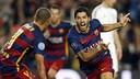 Golàs de Suárez al Bayer Leverkusen / MIGUEL RUIZ-FCB