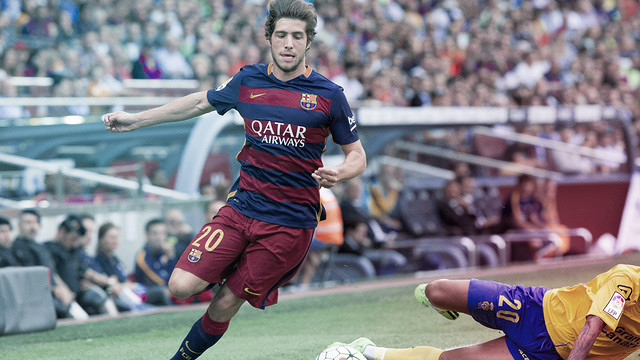 Sergi Roberto continues to develop / FCB