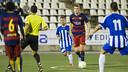 Gumbau in action against Figueres / VICTOR SALGADO - FCB