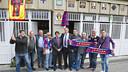 Crest unveiling of the PB La Pulga de Castelldefels