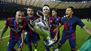 Neymar savours Champions League victory / MIGUEL RUIZ - FCB