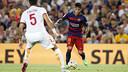 Neymar émerveille le Camp Nou avec ses gestes techniques en tout genre/ MIGUEL RUIZ - FCB