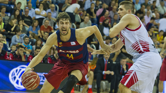 Tomic scored an impressive 23 points / VÍCTOR SALGADO - FCB