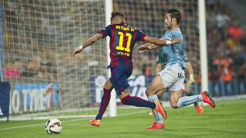 Ese día Neymar Jr cumplía su partido 50 con el Barça c654d0a3aab