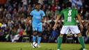 Wilfrid Kaptoum started in FC Barcelona's scoreless draw in the Copa del Rey on Wednesday. / MIGUEL RUIZ-FCB