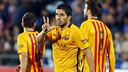 But de Suarez à Getafe / MIGUEL RUIZ-FCB