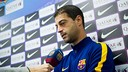 Gerard López cree en su equipo para traer un buen resultado de Reus / VICTOR SALGADO-FCB