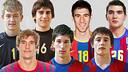 Los jugadores de la cantera blaugrana / FOTO:FCB