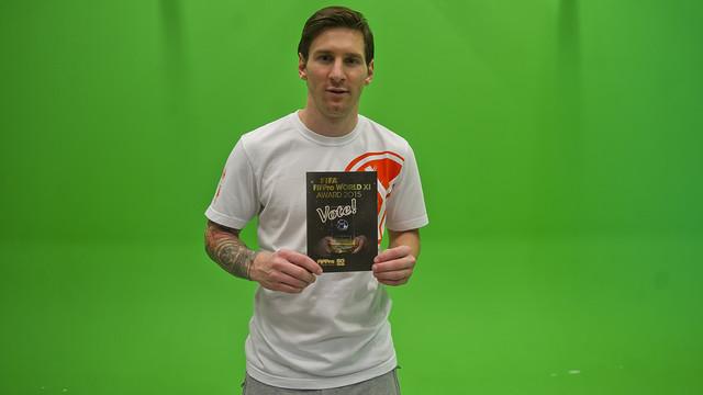Leo Messi has voted for his team of 2015 / VÍCTOR SALGADO - FCB