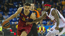 Satoransky was Barça's second highest scorer with 10 points / VICTOR SALGADO - FCB