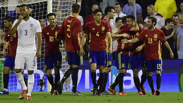 Five Barça players were in the starting line-up for Spain / FIFA.COM