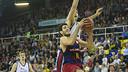 Abrines one of the stars of the win over Obradoiro / VICTOR SALGADO