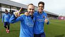 Andrés Iniesta et Marc Bartra sont revenus / MIGUEL RUIZ - FCB