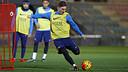 Leo Messi s'ha recuperat de la lesió i viatja a Madrid / MIGUEL RUIZ - FCB