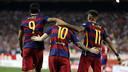 Suárez, Messi et Neymar seront à nouveau réunis ce soir pour le Clasico / MIGUEL RUIZ - FCB