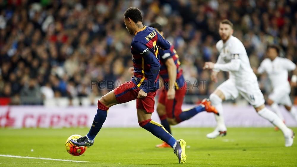 گزارش تصویری: تصاویر نیمار مقابل رئال مادرید_سری اول