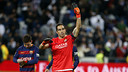 Bravo made seven fine saves to denyl Madrid from scoring / MIGUEL RUIZ - FCB