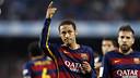 Neymar Jr celebrates one of the goals against Villarreal / MIGUEL RUIZ - FCB