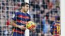Luis Suárez scored Barça's second goal against Real Sociedad. / MIGUEL RUIZ - FCB