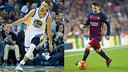 Stephen Curry and Leo Messi, two stars of their respective sports / FOTOMUNTATGE-FCB